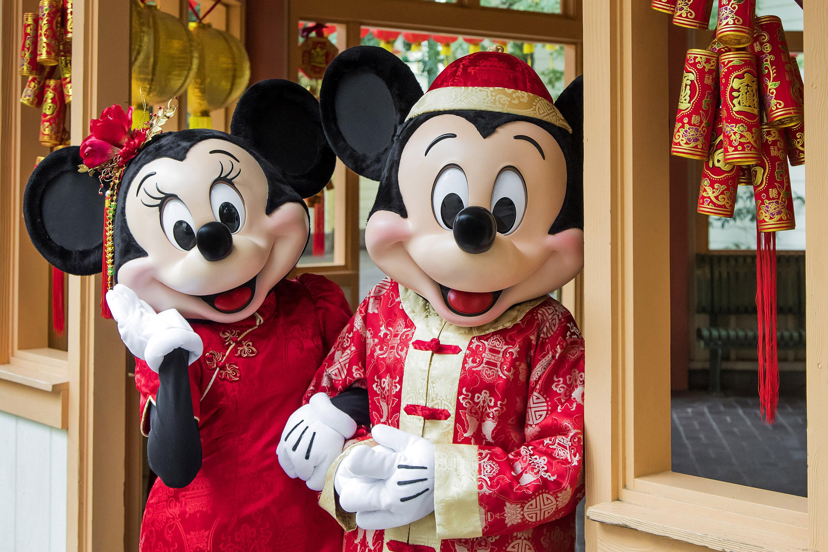 Disneyland Resort celebra el Año Nuevo Lunar con un toque de magia Disney del 25 de enero al 17 de febrero de 2019