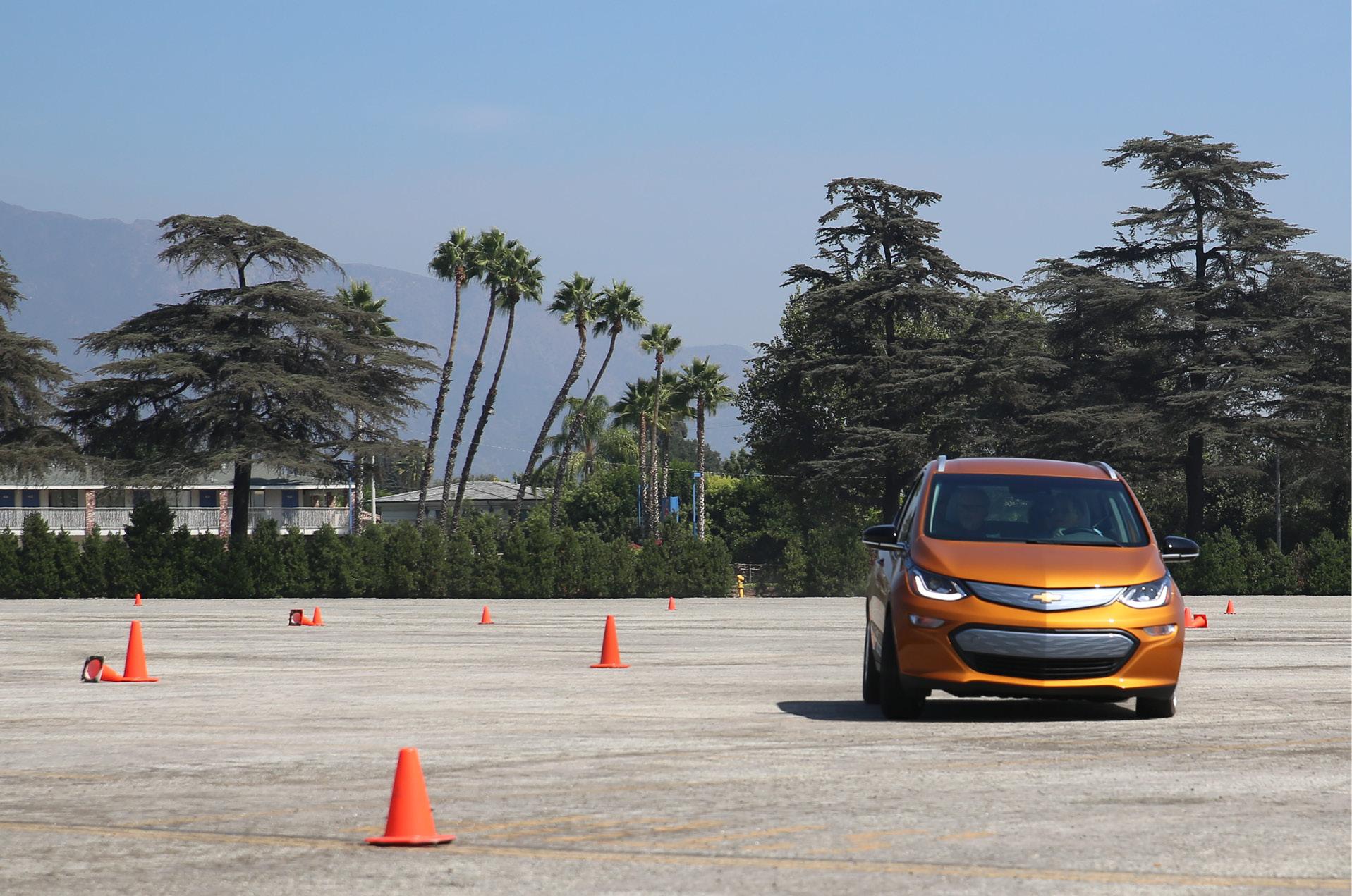 Manejar el Bolt EV, una gran experiencia