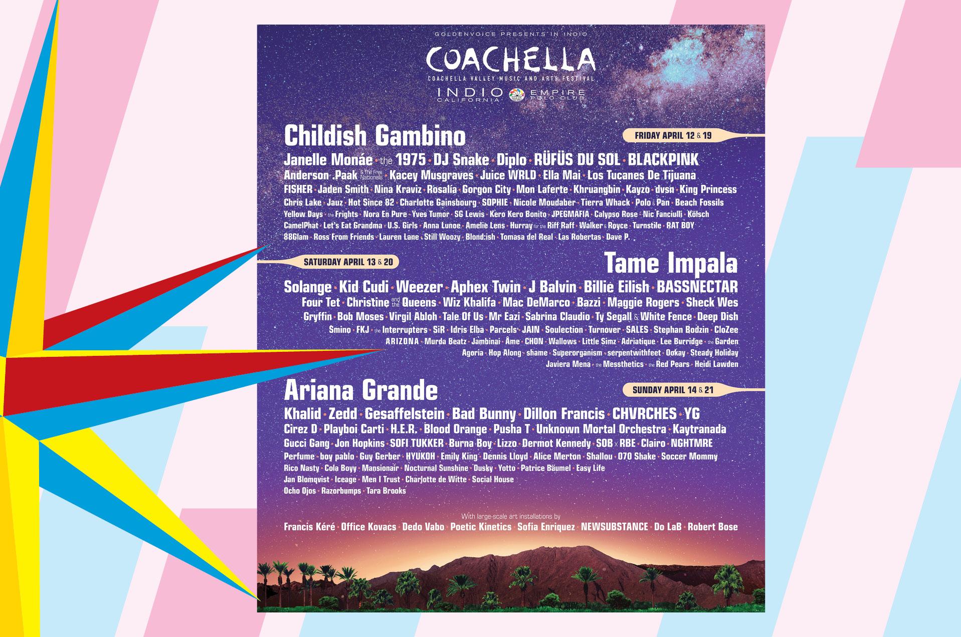 Todo listo para Coachella 2019