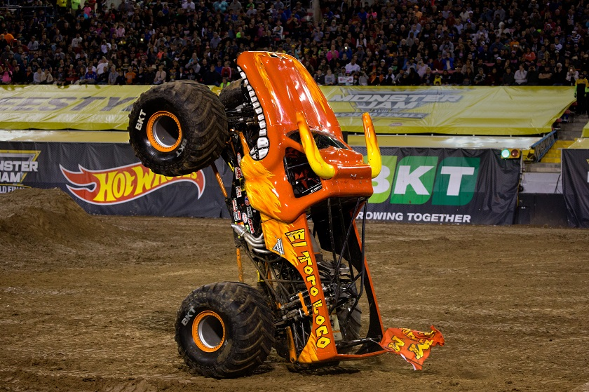 Monster Jam® Crushes through Angel Stadium of Anaheim with more events than ever before in Southern California