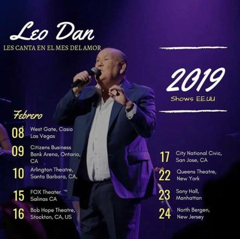 Leo Dan continúa cosechando éxitos