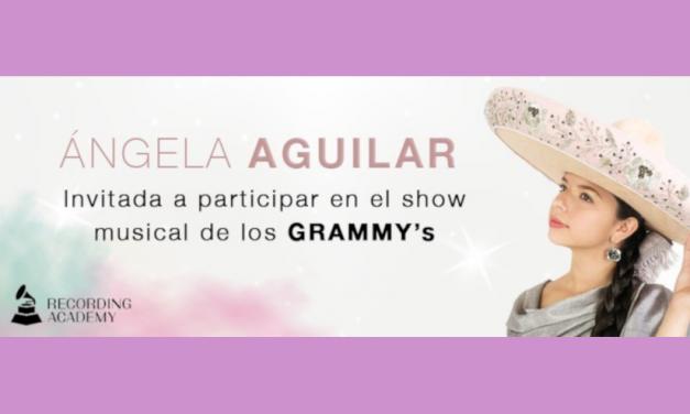 Ángela Aguilar cantará en la Premiere del Grammy