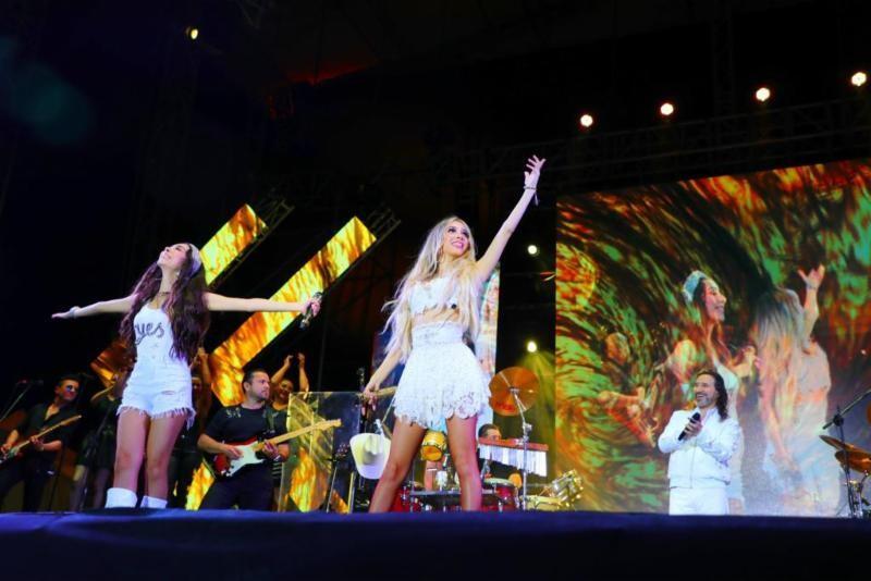 Marla y Alison Solís continúan deslumbrando al público durante su paso por Sudamérica