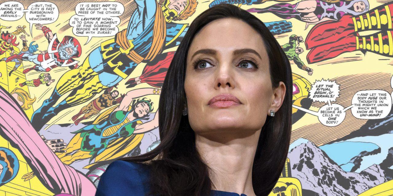 Angelina Jolie podría incorporarse ¡a Marvel!