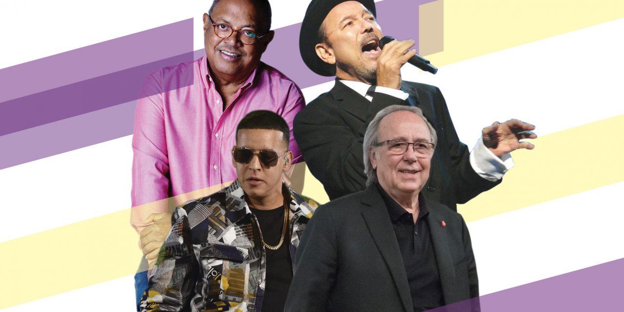 Milanés, Serrat, Blades y Daddy Yankee, candidatos al Salón de la Fama de Compositores Latinos 2019