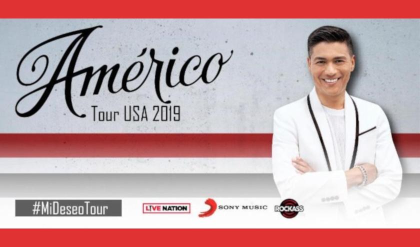 """El cantante chileno Américo, el Rey de la cumbia realizará el tour """"Mi Deseo"""" en Estados Unidos"""