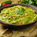 Guacamole (para 4 personas)