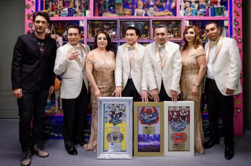 LOS ÁNGELES AZULES colgaron el letrero SOLD OUT en el Auditorio Nacional, MX