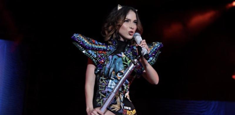Paty Cantú festejó 10 años  de carrera como solista con un  concierto en el Auditorio Nacional