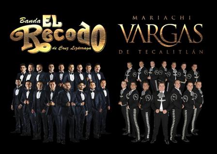 Banda El Recodo y Mariachi Vargas de Tecalitlán anuncian nuevas fechas de su esperada gira por Estados Unidos '200 años de Música Mexicana'