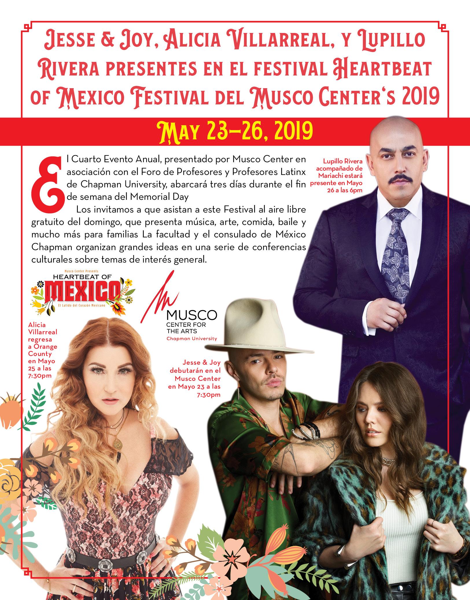 Festival Heartbeat of Mexico Festival del Musco Center's 2019