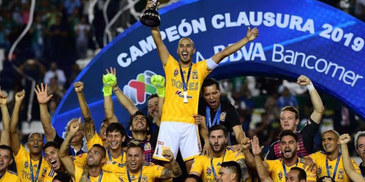 ¡Tigres Campeón del Clausura 2019!