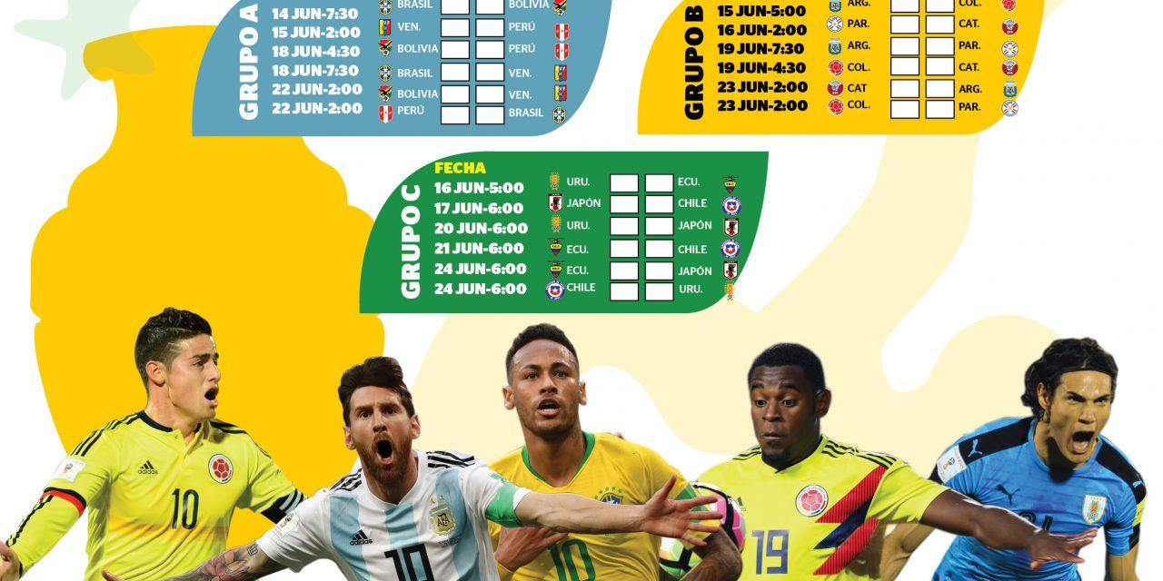 Jugadores a seguir en Copa América Brasil 2019