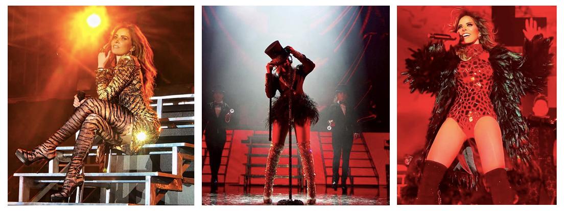 Gloria Trevi continúa arrasando con su exitosa gira por México mientras se prepara para el esperado lanzamiento de su nuevo Álbum 'Diosa de la Noche'