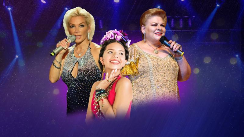 Dos Reinas y una Princesa en un concierto impactante