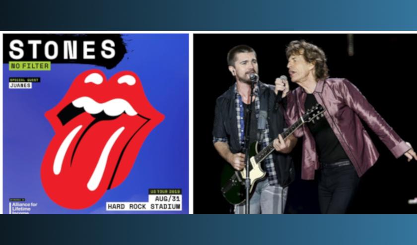 Juanes invitado especial de los Rolling Stones en Miami