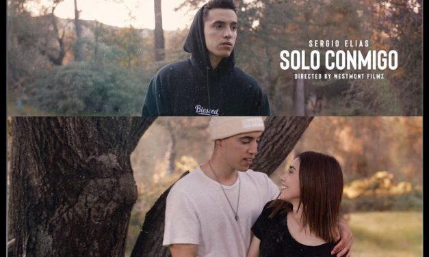 El cantante mexicano, Sergio Elías lanza su nuevo sencillo, 'Solo Conmigo'