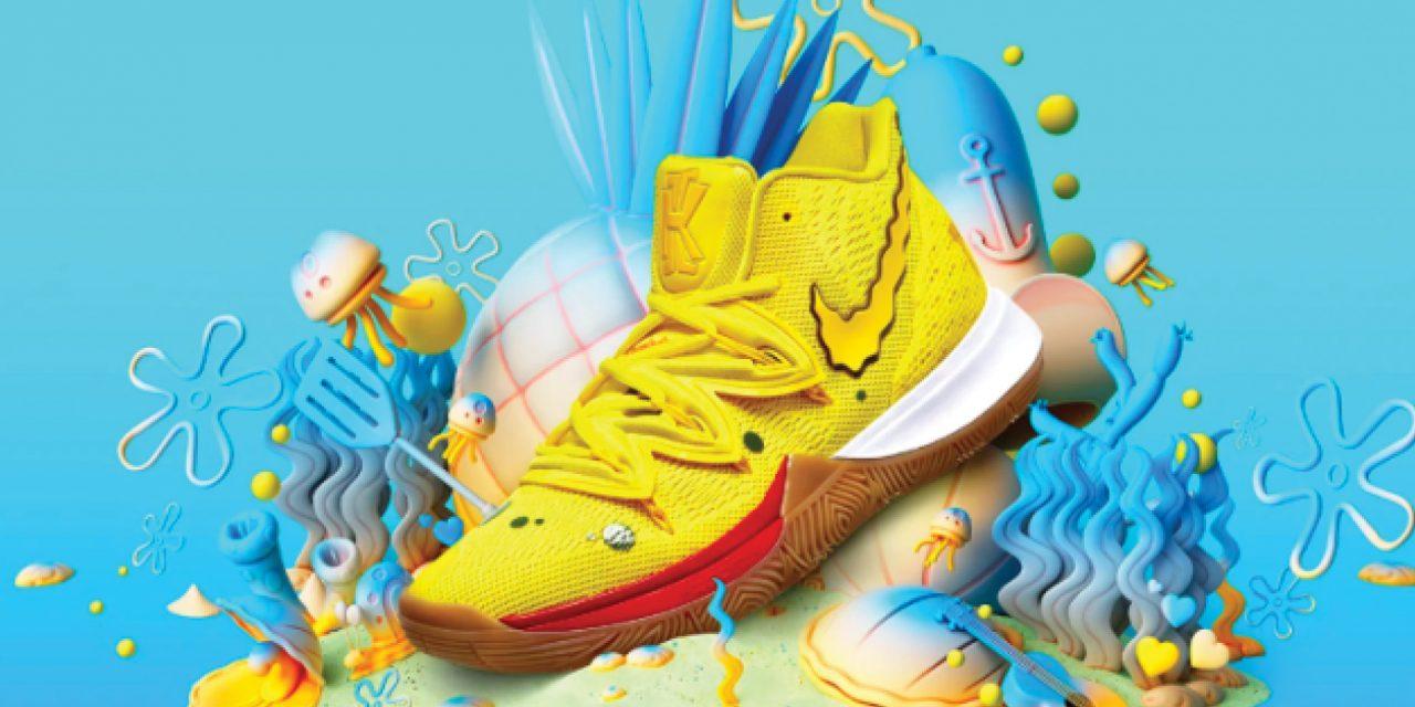 Nike lanza colección inspirada en 'Bob Esponja'