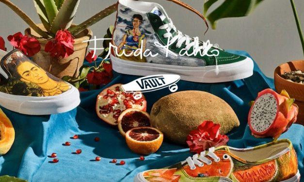 Vans lanzará línea de tenis inspirado en Frida Kahlo