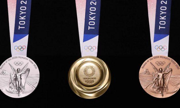 Presentan medallas para Juegos Olímpicos de Tokio 2020