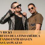 MAU Y RICKY los reyes de Latinoamérica agotando entradas en todas las plazas