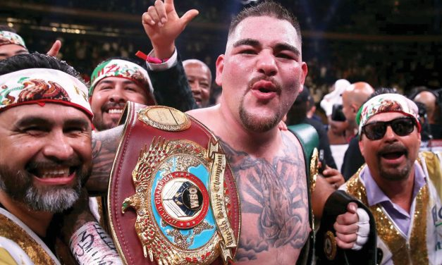 Andy Ruiz confirma revancha ante Anthony Joshua en Arabia