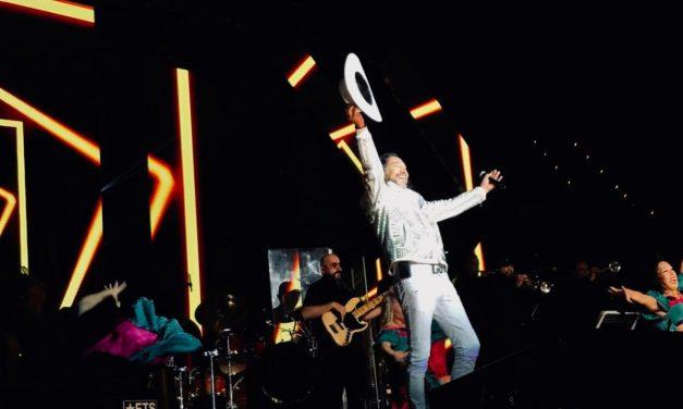 Marco Antonio Solís arrancó las celebraciones de Fiestas Patrias en Las Vegas
