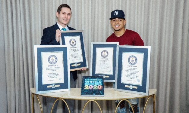 Ozuna: Uno de los artistas latinos que entró a la nueva edición del Libro Guinness World Records 2020