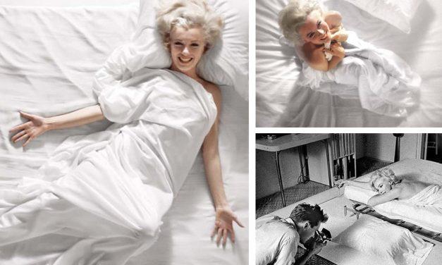 Subastarán fotos de Marilyn Monroe en la cama