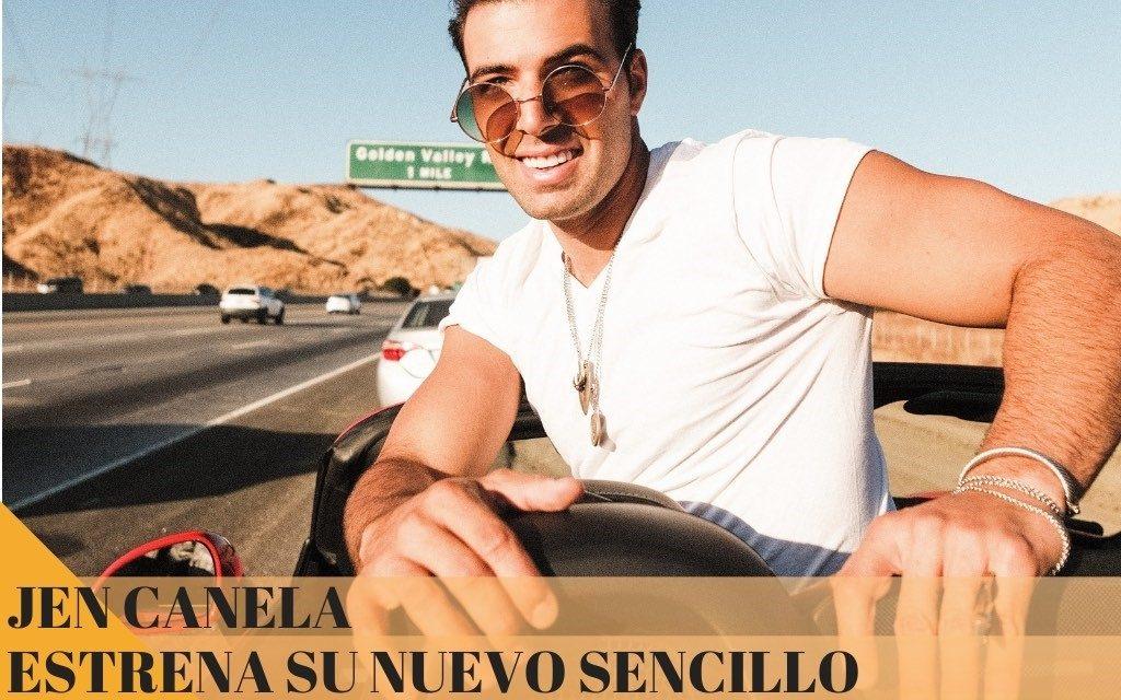 JEN CANELA estrena su nuevo sencillo «ME ESTOY ENAMORANDO»