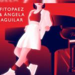 Ángela Aguilar al lado de Fito Paez