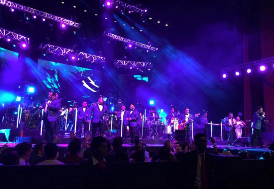 LOS ÁNGELES AZULES Dieron su quinceavo Sold Out show en el Auditorio Nacional