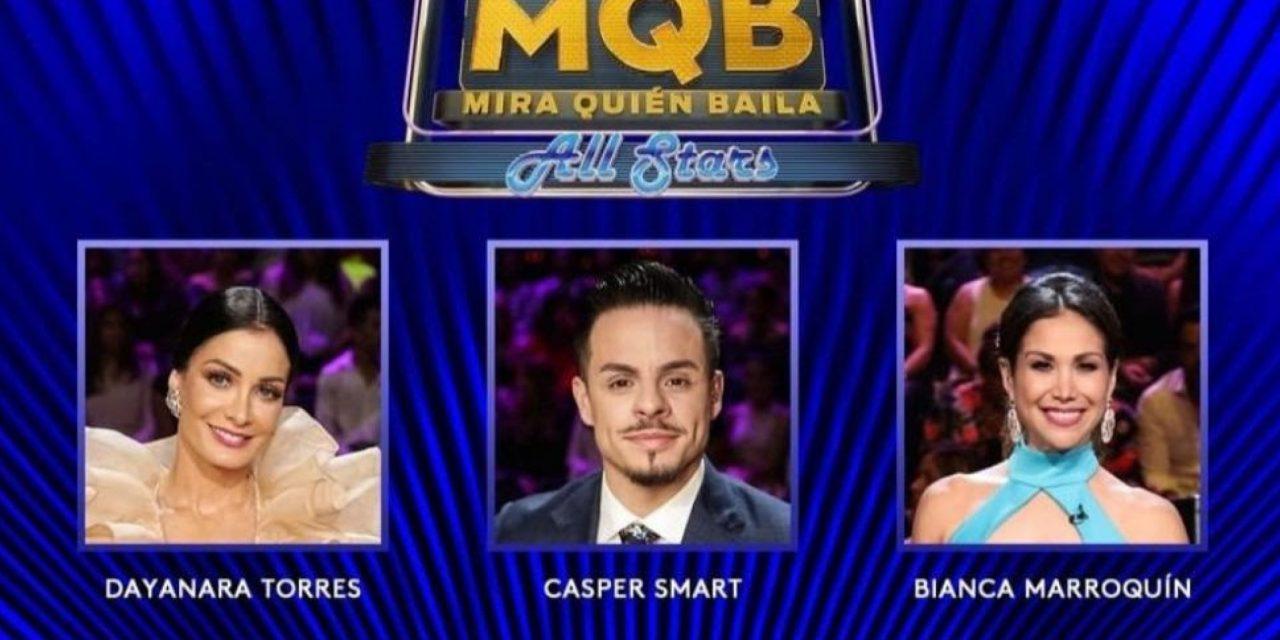 """""""Mira Quién Baila All Stars"""" Regresa con Dayanara Torres, Casper Smart y Bianca Marroquín en el Jurado"""
