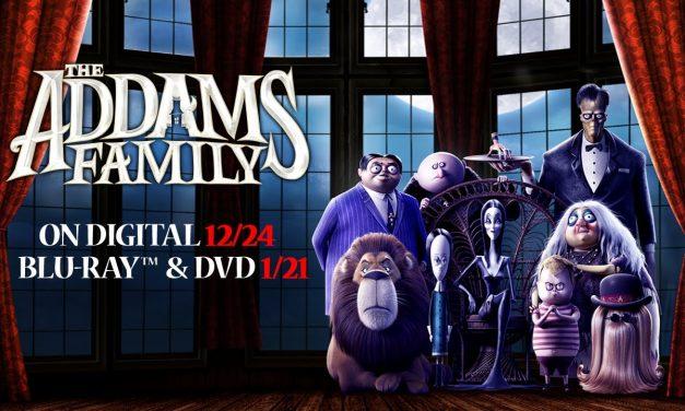 La Película Animada de la Familia Addams en Blu-ray, DVD, Digital y On Demand