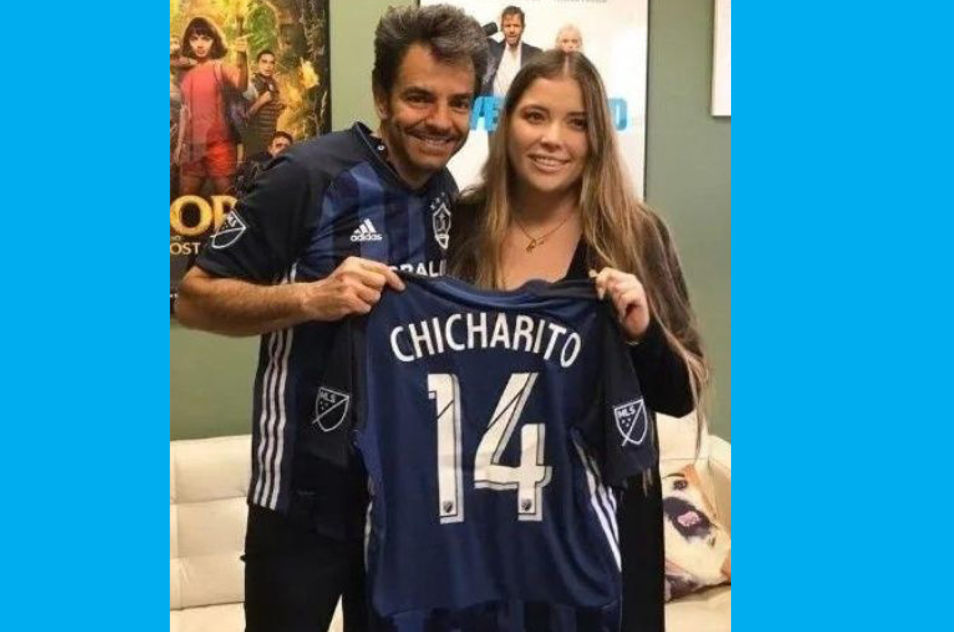 Llega Chicharito al Galaxy de L.A.