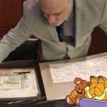 Tiras cómicas de Garfield son puestas en subasta
