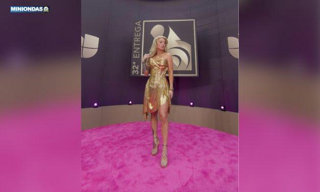 Leslie Shaw derrochó belleza y glamour en la noche de Premio Lo Nuestro 2020