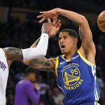 Juan Toscano hizo su debut en la NBA en derrota de Warriors