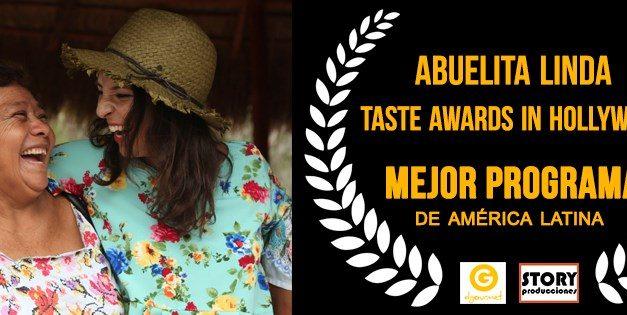 """Abuelita Linda"" se corona como mejor serie latinoamericana en los premios Taste Awards 2020"