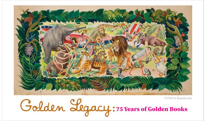 La exposición «Golden Legacy: 75 años de Little Golden Books» se inaugurará en Fullerton Museum Center