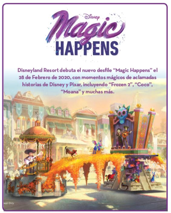 Magic Happens - Parade – Debuts February 28