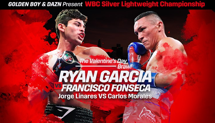 Ryan García VS Francisco Fonseca Feb-14 Honda Center