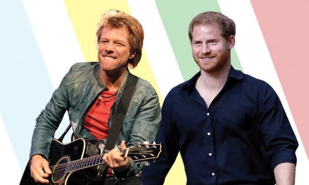 Jon Bon Jovi y el Príncipe Harry se unen por una buena causa