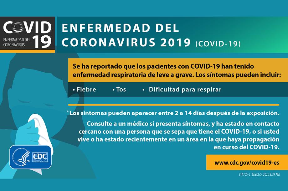 Cómo se propaga el COVID-19