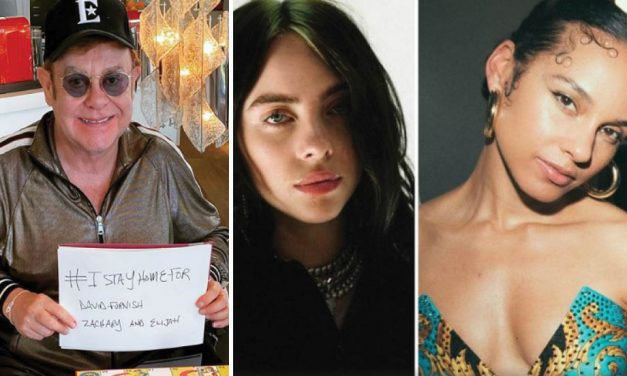 Elton John, Billie Eilish y Alicia Keys transmitirán concierto benéfico