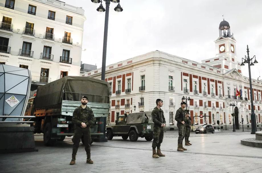 España en cuarentena hasta el 13 de Abril, en Italia continua