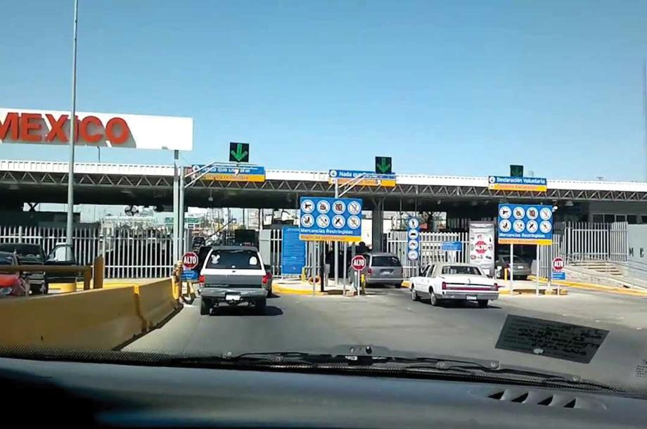 Comienza cierre parcial en la frontera de Estados Unidos y México