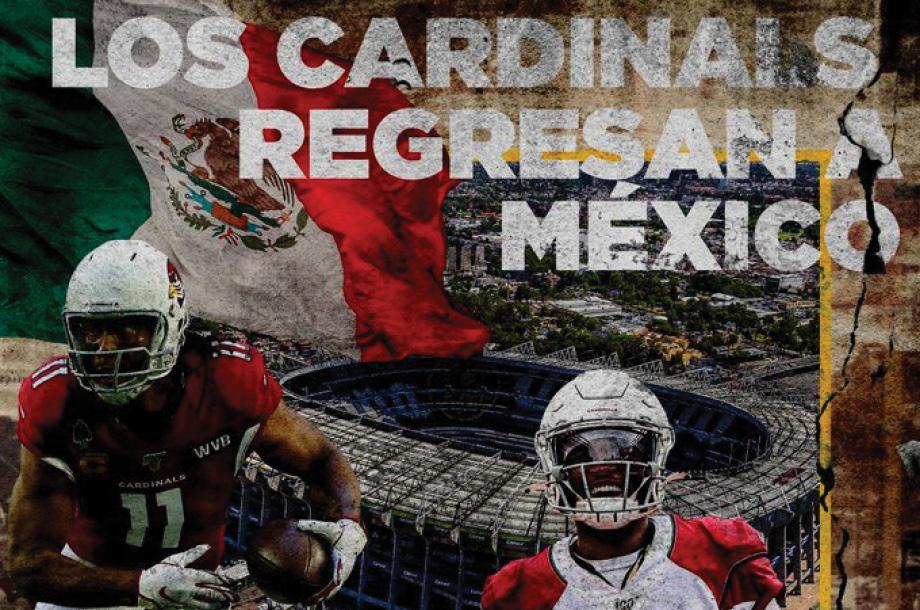 Arizona jugará en México un partido de temporada regular