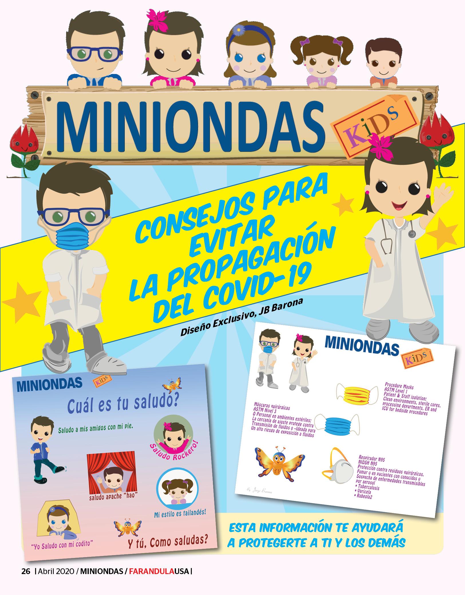 Miniondas Kids - Coronavirus