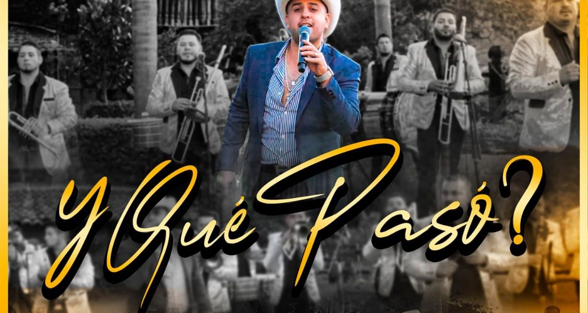 Jr. Salazar lanza su nuevo sencillo «Y Qué Pasó?